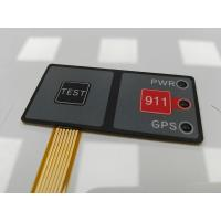 Quality Embossed With LED Thin Film / Membrane Control Panel With 3M467 Adhesive for sale
