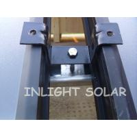 Quality Pressurized Flat Plate Solar Collector Silver Fluorocarbon Type , 2M*1 M*0.08M for sale
