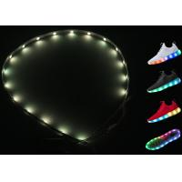 China RGB 3528 Smd USB Battery LED Light Strips For Shoes Dream Color Resistor on sale