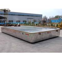 Wholesale 40t Electric trackless transport platform for metal parts handling in foundry plant from china suppliers
