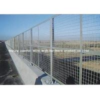 Quality White Iron Wire Security Metal Fencing High Strength For Boundary Wall for sale