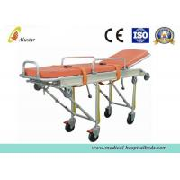 Wholesale Full Automatic Loading Stretcher Folded Emergency Patient Ambulance Stretcher Trolley (ALS-S008) from china suppliers