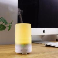 Quality 50ML Car USB Colorful Aroma Oil Diffuser Ultrasonic Humidifier Air Mist Aromatherapy Purifier for sale