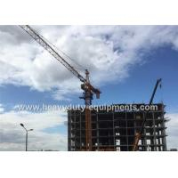 Wholesale Tower crane with free height 40m and max load 6 T with warranty for construction from china suppliers