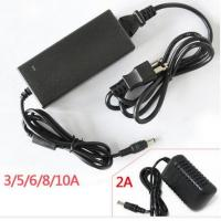 Wholesale AC DC power adapter 2A 2.5A 3A wall mount power supply for CCTV LED strips with UL CE from china suppliers