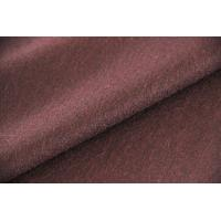 Quality Worested Texture Craft Burgundy Wool Twill Fabric For Dress 600 G / M for sale