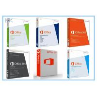 Quality Microsoft Office 2013 Retail Box with DVD 32bit / 64bit No Language Limitation for sale