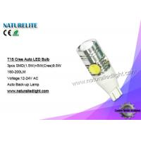 Wholesale T15 Auto Led Bulbs  , Led Light Bulbs For Cars  Power Saving from china suppliers