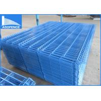Wholesale Blue 2030mm Height 3D Welded Wire Mesh Fencing Panels Security Mesh Fencing from china suppliers