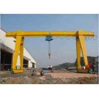 Wholesale Electric Single Girder Gantry Crane 20 Ton Lifting Equipment A Frame type from china suppliers