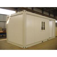 Wholesale Sandwich Panel Prebuilt Recycled Modified Conex Box Homes , Easy to be Assemble from china suppliers