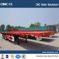 Wholesale tri-axle 40FT container flatbed trailer from china suppliers