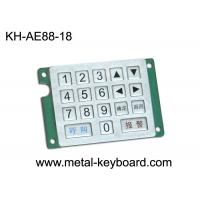 Quality Customized Keyboard Metal Numeric Keypad with Rugged Stainless Steel Material for sale
