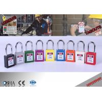 Wholesale Steel Shackle Lock Out Padlocks  from china suppliers