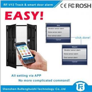Wholesale Wireless touch sensor door handle alarm gsm smart door alarm rf-v13 from china suppliers