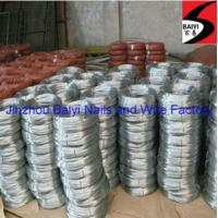 China Low carbon steel galvanized wire on sale