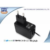 Wholesale EN60950/60065 EU Plug Wall Mount Power Adapter with CE GS Safety Mark from china suppliers