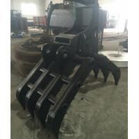 Quality Hydraulic Driven Grapple Machine High Efficiency For Grab Steel for sale