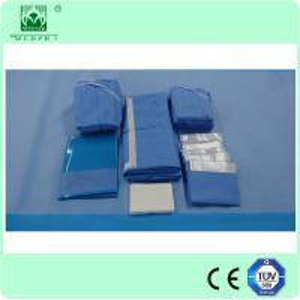Wholesale Laparoscopy drape pack,disposable sterile Laparoscopy drape pack from china suppliers