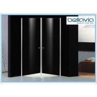 Wholesale 6 mm Clear Tempered Glass Frameless Shower Enclosure Pivot Door 6550-1 from china suppliers