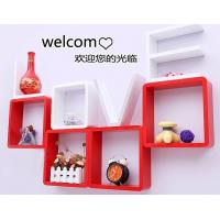 Quality Korean Style Love Storage Rack Wall Shelf Wall Hanger Home & Wall Decor Creative Gift White Color for sale
