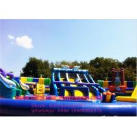 Wholesale Professional Giant Inflatable Water Park And Slide Environment Friendly from china suppliers