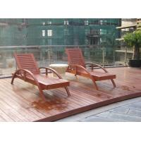 Wholesale outdoor chaise lounge wooden beach chair from china suppliers