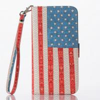 "Wholesale USA Flag Pattern Cell Phone Case With Credit Card Slot For Iphone 6 Plus(5.5"") from china suppliers"