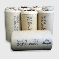 Wholesale Rechargeable NiCD SC1300mAh power tool batteries  from china suppliers