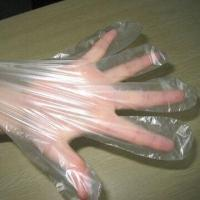 Wholesale Short PE Gloves, Made of HDPE/LDPE Material, Customized Orders are accepted from china suppliers