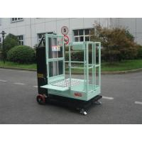 Wholesale 200kg Rated Load Aerial Order Picker Semi Electric 4.3m For One Person Stock Picking from china suppliers