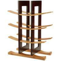 Wholesale Home Collection Decorative Wooden Floor Wine Rack / Display / Shelf Good Stability from china suppliers