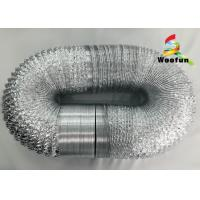 Wholesale Eco Friendly Silver Range Hood Vent Duct Flexible Aluminum Laminated With Polyester from china suppliers