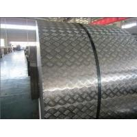 Wholesale No Peeling Diamond Plate Aluminum Sheet Metal Rolls 1050 Series Anti Slip from china suppliers