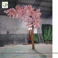 Quality UVG 12ft high pink color artificial cherry blossom trees for weddings CHR157 for sale