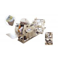 Wholesale 6KW high speed 60 - 300pcs / min food paper bag making machine for paper with 30-100 gsm from china suppliers