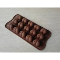 Wholesale Food-grade Heart Silicone Chocolate Mould , 15Hole Non-stick Silicon Ice Mould from china suppliers
