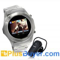 Wholesale Assassin Dawn - Touchscreen Unlocked Watch Mobile Phone with MP4 - Silver from china suppliers