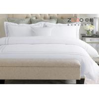 Wholesale White Color Hospital Bed Sheet Cotton Material 40s / 60s / 80s Yarn Count from china suppliers