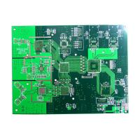 Wholesale 0.5 - 6oz FR4 High TG PCB with BGA Plugging Vias 1 - 28 Layers for Telecommunication from china suppliers