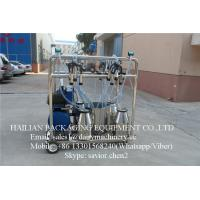 Wholesale Mobile Pail Bucket Milking Machine With Clusters For Cows Goats Sheep from china suppliers