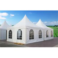 Wholesale Aluminum Frame  Material Commercial Party Tent Self Cleaning With Outdoor Rooftop from china suppliers