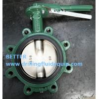 Buy cheap Lug Type Butterfly Valves CAMERON MUDKING DEMCO NE-C NE-I BFV Butterfly Valve Nickle Plate Ductile Iron Disc 416SS stem from wholesalers