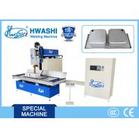 Buy cheap 9.5 V AC Kitchen Sink Stainless Steel Seam Welding Machine Full Automatic Overlap Welding from wholesalers