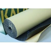 Quality Rubber Foam Sound Absorption Pad Fireproof 8mm Self - Adhesive Insulation Mat for sale