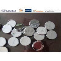 Wholesale Chrome Plated Plastic Parts ABS Button Covers , Custom Injection Molding Service from china suppliers