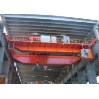 Buy cheap Workstation EOT Double Girder Overhead Crane With Hook 5 ~450 Ton ISO CE from wholesalers