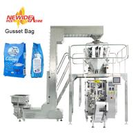 Wholesale High Quality Vertical Gusset Bag Granule Packing Machine With Multi Weigher from china suppliers