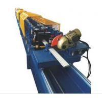 Wholesale Double Sided Uncoiler Shutter Door Roll Forming Machine Siemens PLC Control from china suppliers