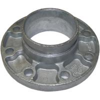 Wholesale Cast Ductile Iron Grooved Pipe Fittings Grooved Quick Flange Adaptor for PE PVC Pipe from china suppliers